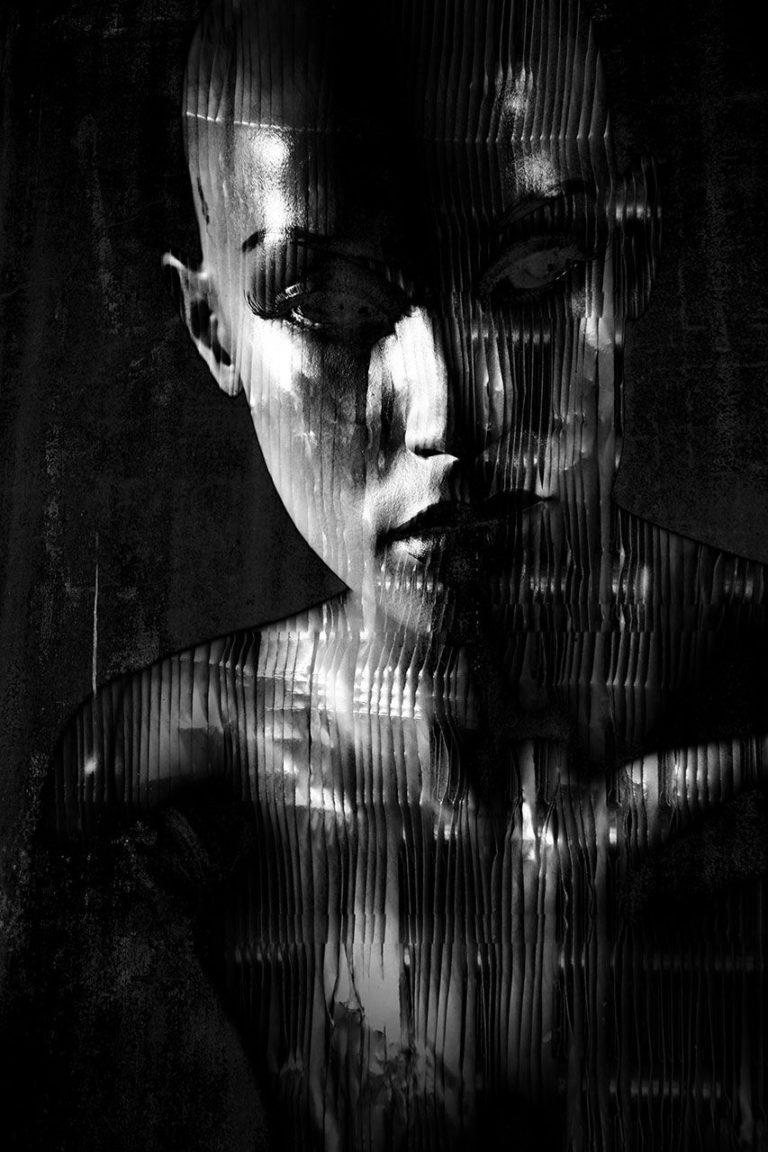 Lisa Brunner - Art Photographer - Metallic Portrait
