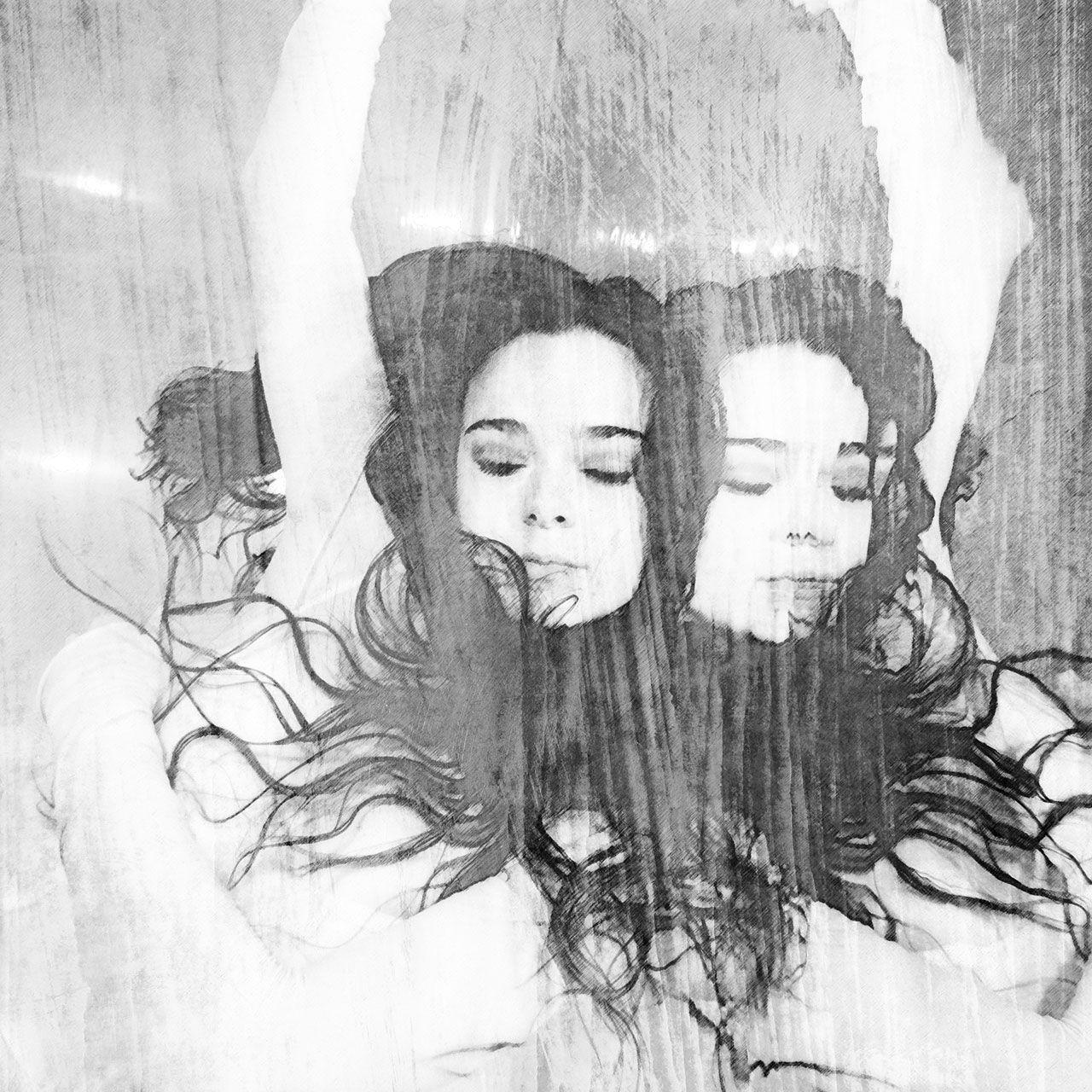 Lisa Brunner - Art Photographer - Sister twins - Lluvia de Sela